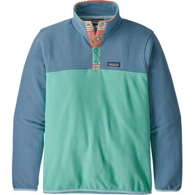Patagonia Micro D Snap-T Veste à enfiler Homme, light beryl green